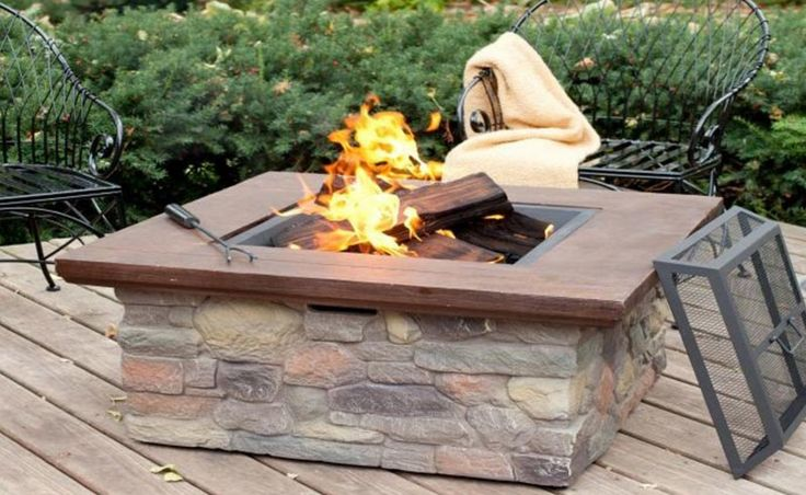 1000 Ideas About Fire Pit Coffee Table On Pinterest Fire Table Propane Fire Pits And Fire