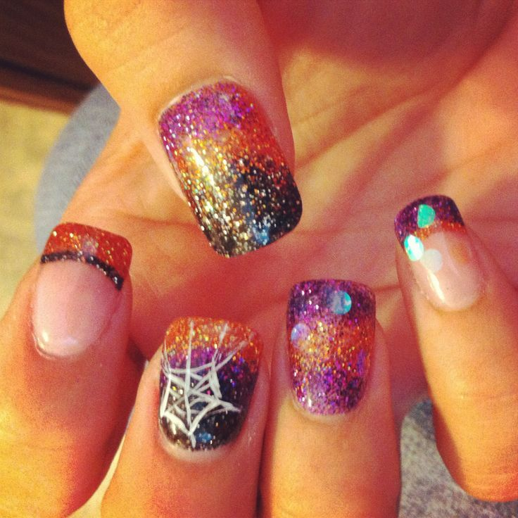 29 best Halloween Nail Designs images on Pinterest | Nail scissors ...