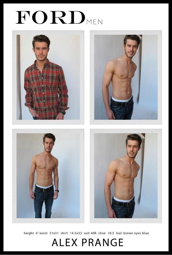 Demigod of the month @Alex_Prange at @FordModels_Chi