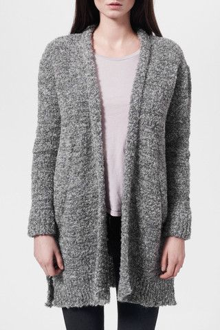 NYNNEOversize strik cardigan | The Baand