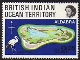 British Indian Ocean Territory Aldabra Atoll Stamps
