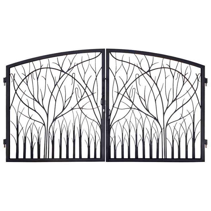 Best 25 iron garden gates ideas on pinterest wrought Metal gate designs images