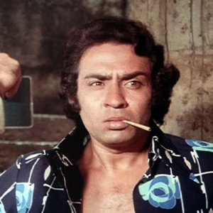 Along with Prem Chopra, Gulshan Grover, Shakti Kapoor, a true member of the league of Bolly rapists, always the nasty bad guy, leching after the heroine, Ranjeet.