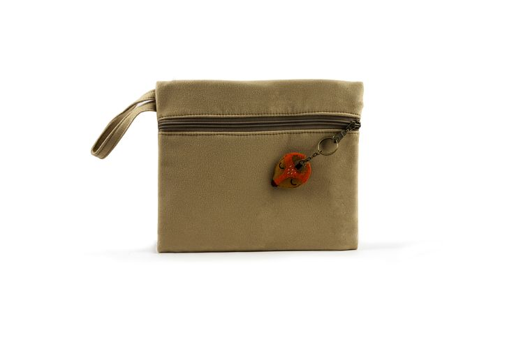 Bax & Bay  Luxury accessories for parents Sand Suede Clutch   www.baxandbay.com www.alegremedia.com #alegremedia
