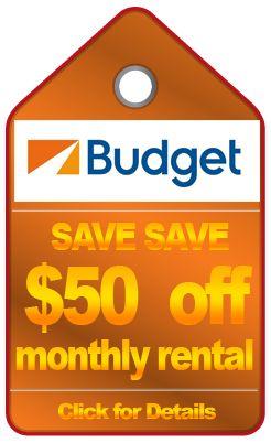 Budget Monthly Specials
