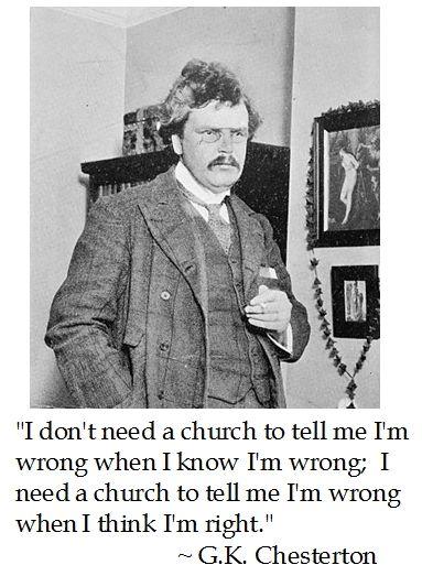 G.K. Chesterton on Church