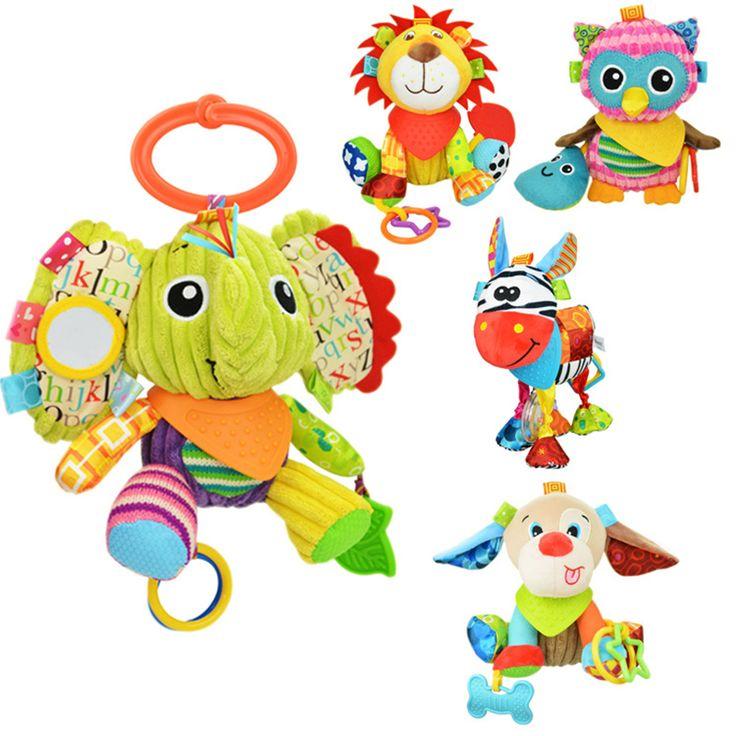 $5.59 (Buy here: https://alitems.com/g/1e8d114494ebda23ff8b16525dc3e8/?i=5&ulp=https%3A%2F%2Fwww.aliexpress.com%2Fitem%2FAnimal-Baby-Bell-Hand-Grasp-Toys-Plush-Infant-Rattle-Bell-Crib-Bed-Hanging-Toy-Teether-Dolls%2F32715709939.html ) Animal Baby Bell Hand Grasp Educational Toys  Infant Rattle Bell Mobility On The Crib Bed Hanging Toy Plush Teether Dolls for just $5.59