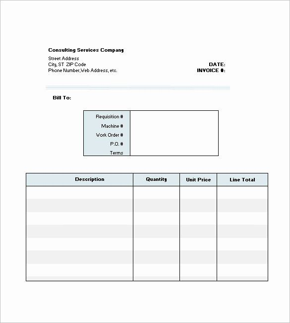 Consulting Invoice Template Word Awesome 4 Consultant Consulting Invoice Template Free Word Invoice Template Word Invoice Template Templates