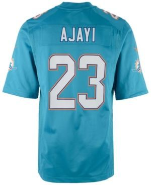 Nike Men's Jay Ajayi Miami Dolphins Game Jersey - Blue XXL