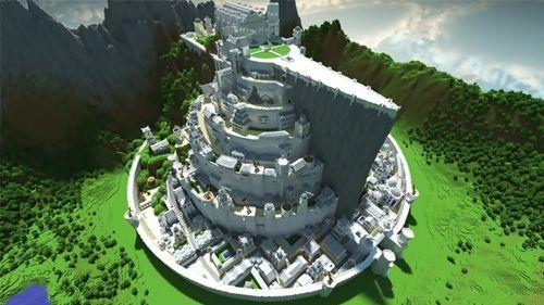 マインクラフトの絶対に見ておくべきすごい建築物・建造物 24選 - はや速