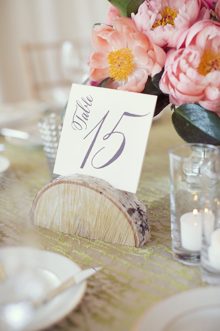 Table Numbers on http://www.StyleMePretty.com/2014/03/21/rustic-texas-ranch-wedding/ Photography: Sarah Kate - SarahKatephoto.com