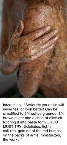 I want to try this scrub!