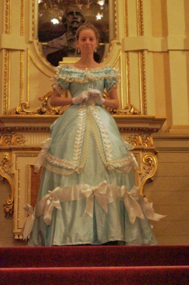 Ms.Nelly świat kostiumów :): Wieczór w teatrze i HSF #5 Bodice/ Evening in the theatre and HSF #5 Bodice