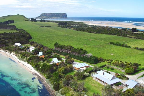 Beachside Retreat West Inlet and The Nut. Article for Think Tasmania.