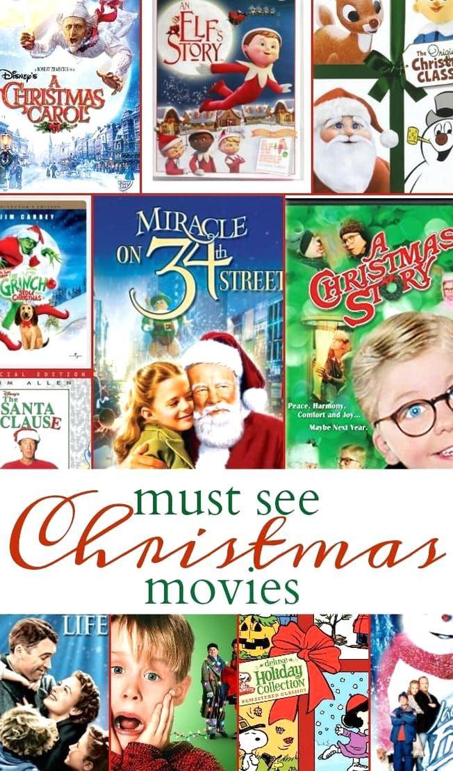 Free Printable Christmas Movies List To Make Sure You Catch Your Favorites And New Christmas Movie In 2020 Kids Christmas Movies Christmas Movies List Christmas Movies