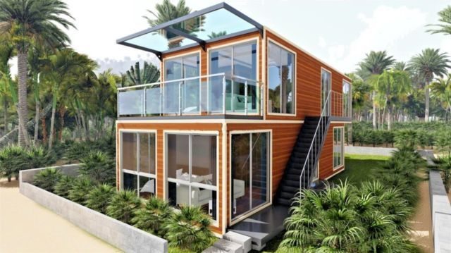 40 Shipping Containers For Sale Ebay >> 2bed 2bath 1280 Sqft Luxury Dplex Sfr Shipping Container Hm