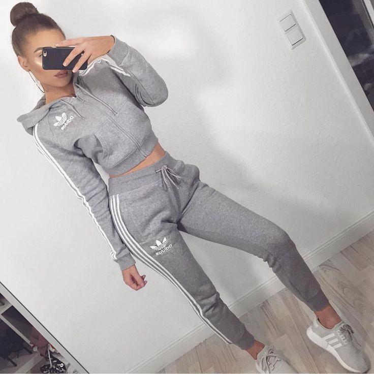 Resultado de imagen de CHANDAL adidas mujer outfit