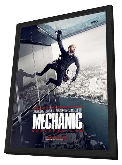 Mechanic: Resurrection (2016) 11x17 Framed Movie Poster