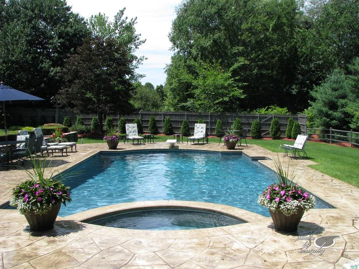 Best 25 Concrete Pool Ideas On Pinterest Backyard Pool Landscaping Pool Retaining Wall And