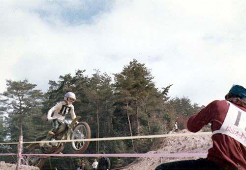 プロショップキヨ・ウェブサイト 1970年 モトクロスレーサー時代に西日本選手権にて。125ccエキスパートクラス優勝!