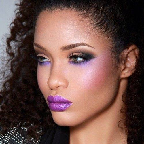Radiant Orchid-Makeup Color Trend for 2014