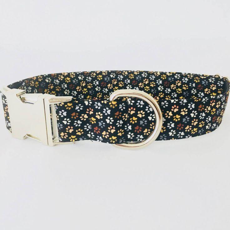 Collar perro Huellas pequeñas (Metal o Plástico), Collar Hebilla de clic, Collares perro, Correa perro - 4GUAUS.COM de 4GUAUS en Etsy