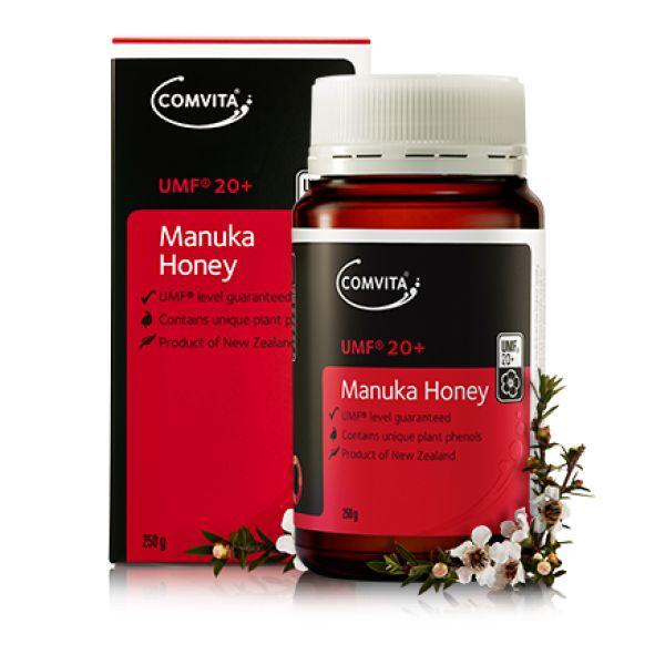 Miere de Manuka UMF 20+ de la Comvita, Factor UMF Garantat. Toata gama de Miere Manuka este disponibila prin comanda online pe www.greenboutique.ro