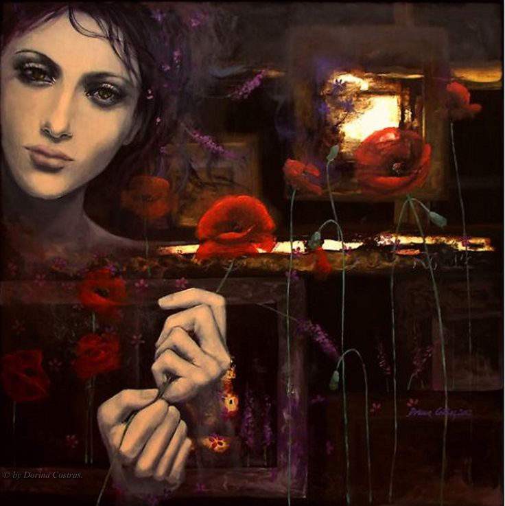 Touching The Ephemeral II by Dorina Costras.: