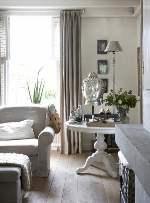 thuis bij henk theunissen van riviera maison stoer landelijk int rieur pinterest side. Black Bedroom Furniture Sets. Home Design Ideas