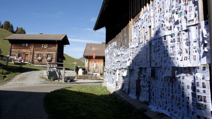 """Graubünden """"Obermutten"""". Social Media marketing"""