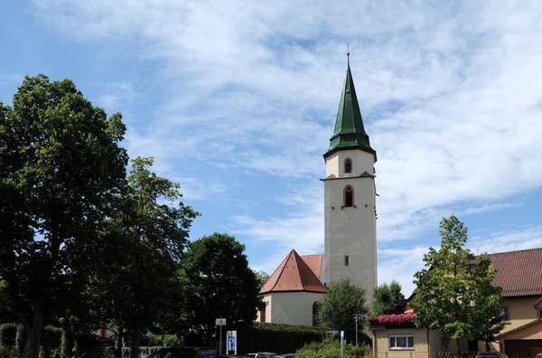 Hüfingen, Stadtkirche St. Verena und Gallus (Schwarzwald-Baar-Kreis) BW DE