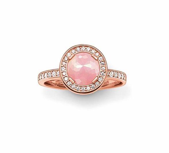 Thomas Sabo rosegold ring