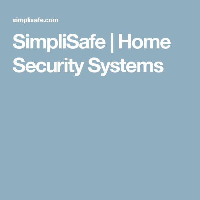 SimpliSafe | Home Security Systems