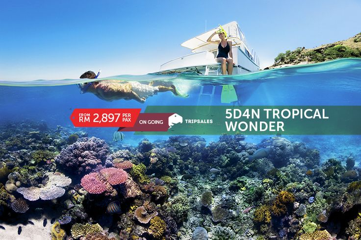 Lie on the beach and soak up some sun, enjoy a list of water-sports activities, or try different Australian delicacies from as low as RM 2,897! Click on link to find out more: http://tripsales.com/deals/1129 #Sun #Beach #Australia #Watersports #Holiday