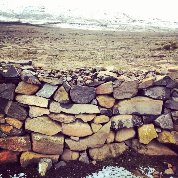 Sani Pass in snow