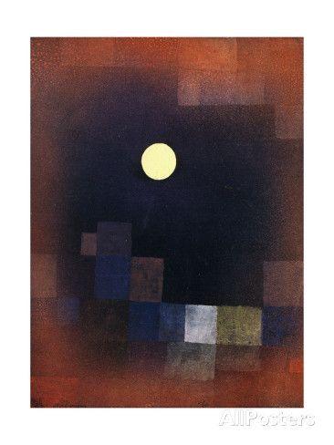 Lever de lune Affiche par Paul Klee sur AllPosters.fr