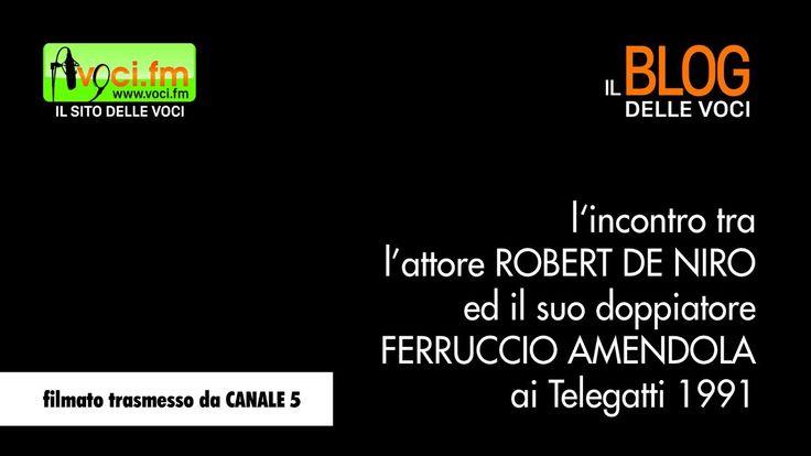 Ferruccio Amendola incontra Robert De Niro