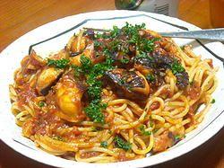 Maltese Spaghetti with Octupus Sauce (Spagetti biz-zalza tal-Qarnit)