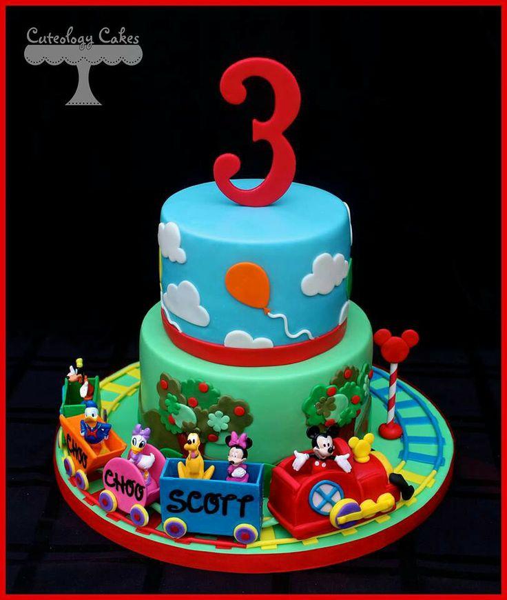 topolino cake torta