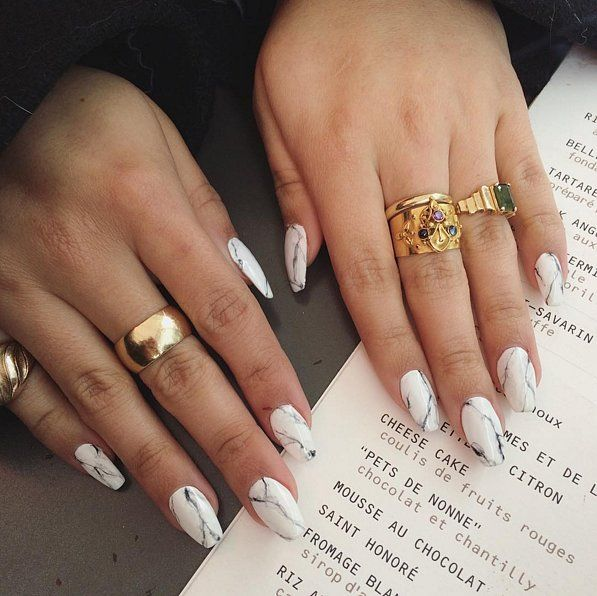 Stone Nail Art Trend | POPSUGAR Beauty UK