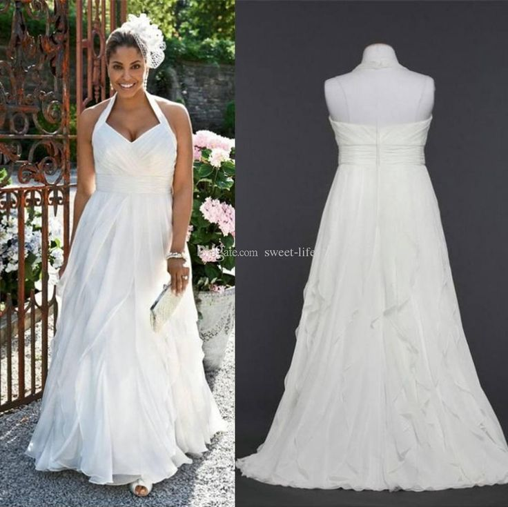 Wholesale Empire Wedding Dresses - Buy 2015 Sexy Beach Wedding Dress Cheap Empire Chiffon Halter Floor Length Backless Sheer Bridal Gowns Dress for Bride Maternity Dress Plus Size, $126.9 | DHgate