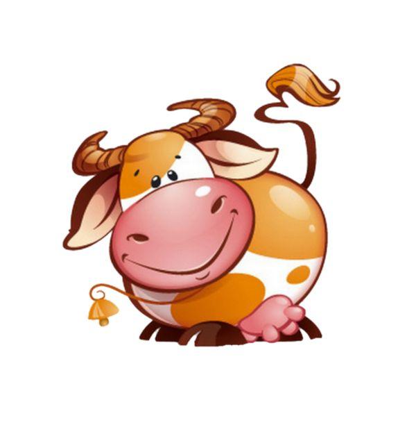 Моя, рисунок коровы прикольный