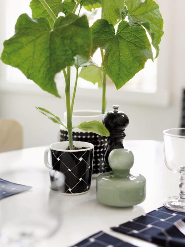 Marimekko Flower vase Sage Green