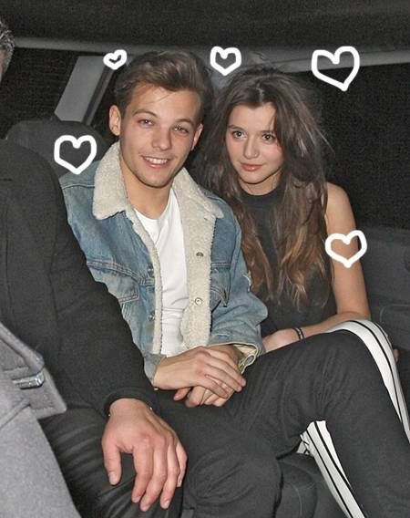 Louis Tomlinson From One Direction and Girlfriend Eleanor Calder Split