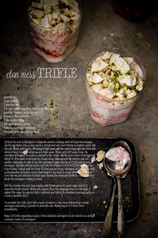 Sips and Spoonfuls: Eton Mess Trifle