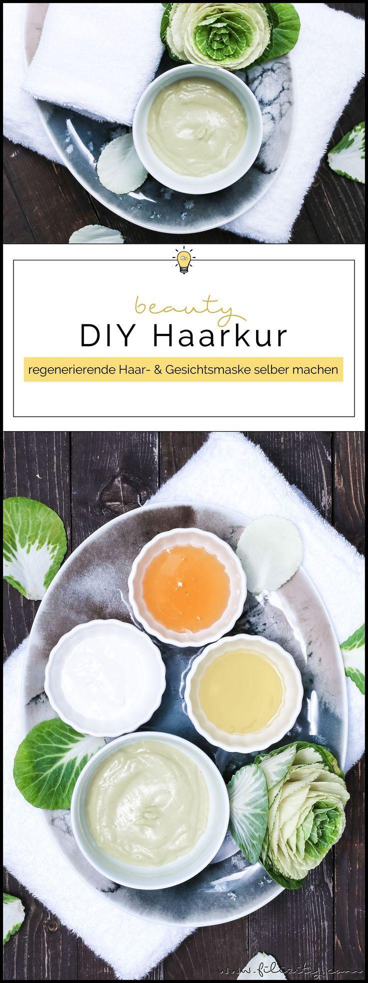 Regenerierende Haarkur/Gesichtsmaske selber machen