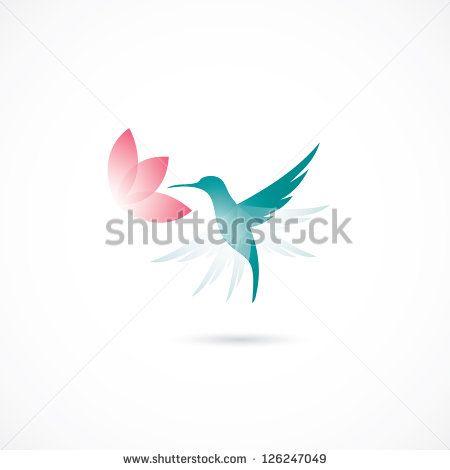 Hummingbird - vector illustration
