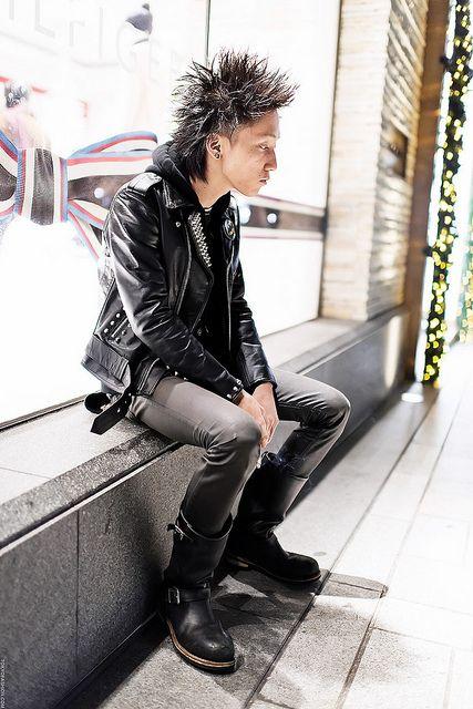 Punk Guy Harajuku By Tokyofashion Via Flickr Tokyo 原宿