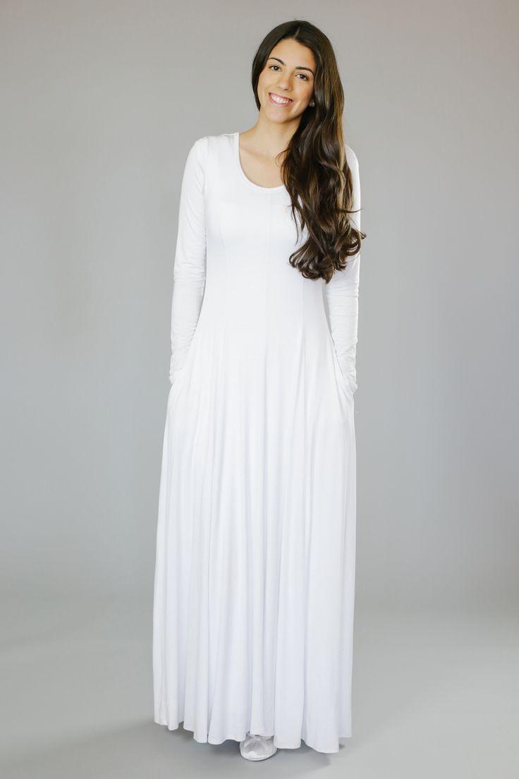 Q.Noor LDS Temple Dress Hero