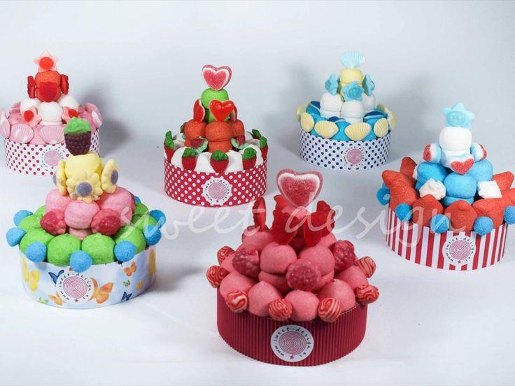 tartas de golosinas comunion - Buscar con Google